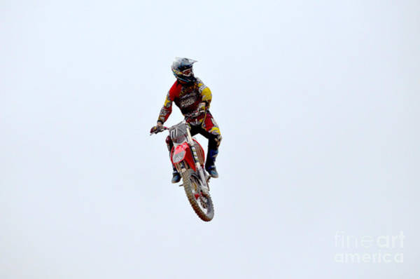Dirtbike Photograph - Supercross by DejaVu Designs