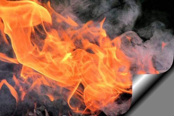 Superficial Digital Art - Superficial Fire by Gary Pavlosky