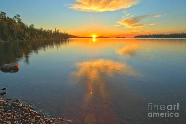 Photograph - Superior Sunrise by Adam Jewell