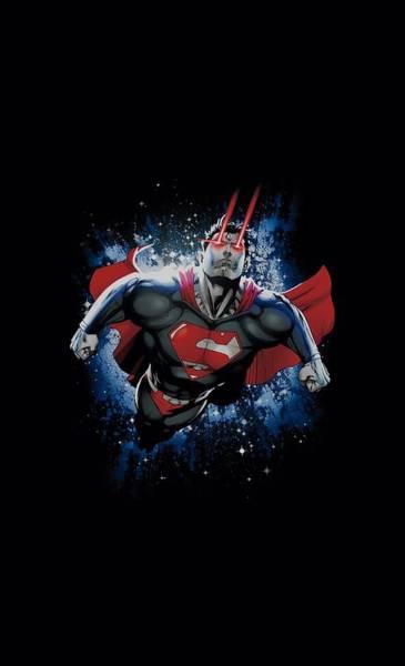 Metropolis Digital Art - Superman - Stardust by Brand A