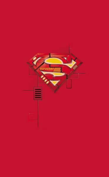 Metropolis Digital Art - Superman - Super Mech Shield by Brand A