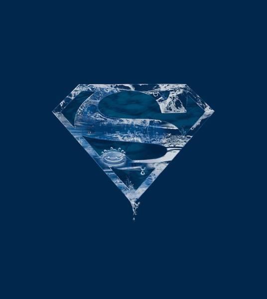 Metropolis Digital Art - Superman - Water Shield by Brand A