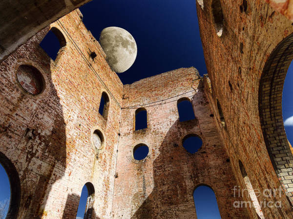 Photograph - Supermoon by Russell Brown