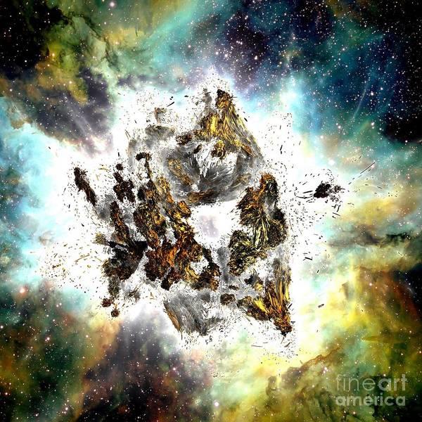 Supernova Art Print by Bernard MICHEL