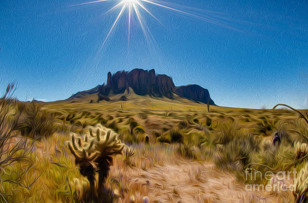 Photograph - Superstition Mountain by Mae Wertz
