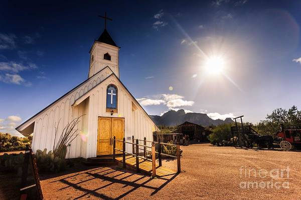 Superstition Mountains Photograph - Superstition Prayer by Bill Cantey