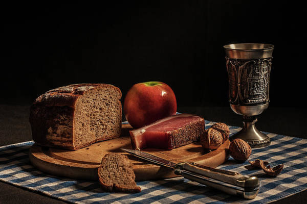 Bread Wall Art - Photograph - Supper by Joe Boehmer