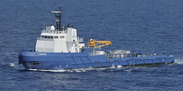 Photograph - Offshore Supply Vessel Nanuq by Bradford Martin