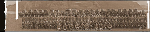 Platoon Wall Art - Photograph - Supply Co. 54th Pioneer Infantry by Fred Schutz Collection
