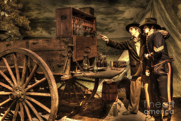 Photograph - Supply Wagon by Paul W Faust -  Impressions of Light