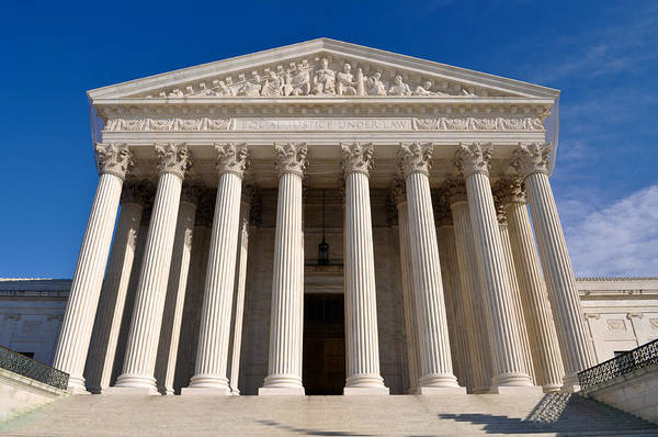 Photograph - Supreme Court Of United States Of America by Brandon Bourdages