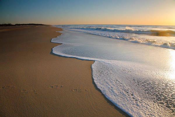 Assateague Island Photograph - Surf And Sand by Steven Ainsworth