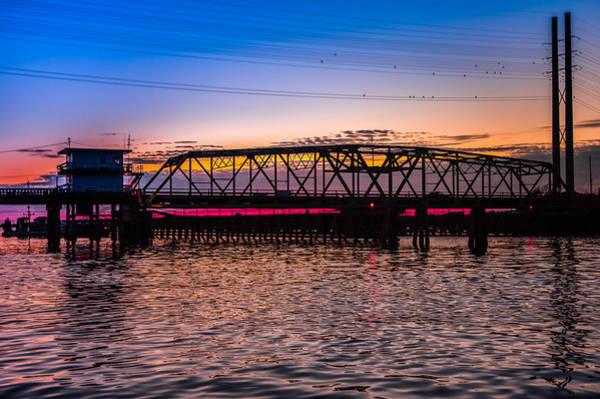 Wall Art - Photograph - Surf City Swing Bridge by Karen Wiles