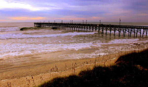 Wall Art - Photograph - Surf City Pier by Karen Wiles