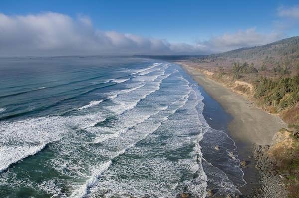 Redwood City Wall Art - Photograph - Surf Comes In by Greg Nyquist