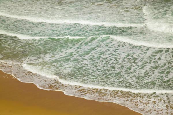 Photograph - Surf On Beach Otway Natl Park Victoria by Yva Momatiuk John Eastcott