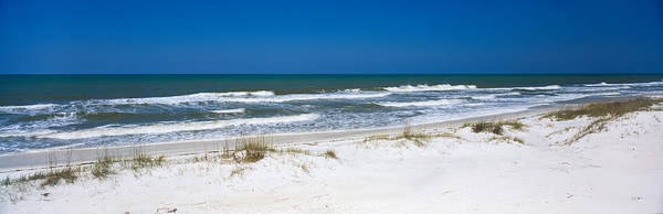 Gulf State Park Photograph - Surf On The Beach, St. Joseph Peninsula by Panoramic Images