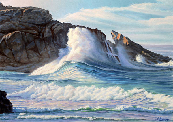 Surf Painting - Surf by Paul Krapf