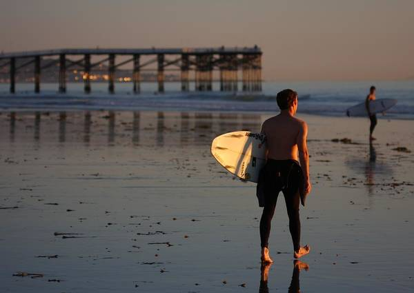 Photograph - Surf Scene by Nathan Rupert