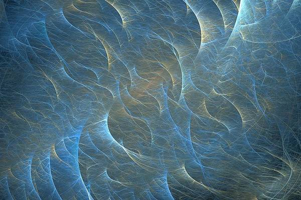 Digital Art - Surface Ripples by Doug Morgan