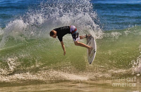 Photograph - Surfer 9222013 by Deborah Benoit