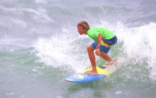 Photograph - Surfer Amped by Alice Gipson