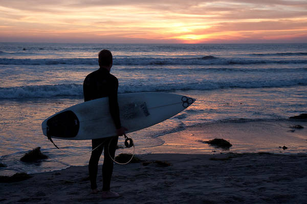 Photograph - Surfer At Sunset by Nathan Rupert