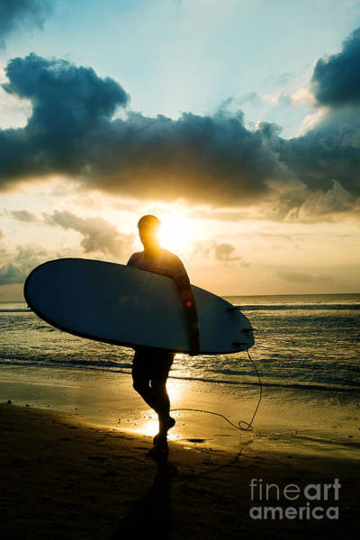 Photograph - Surfer by Yew Kwang