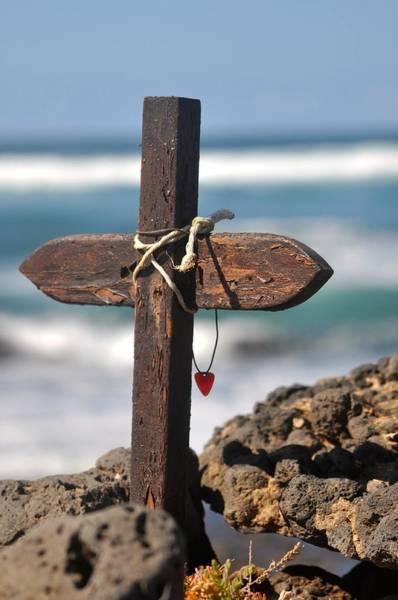 God Photograph - Surfers Cross  by Keith Harkin
