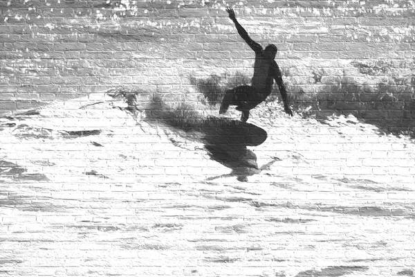 Photograph - Surfing Brick by Alice Gipson