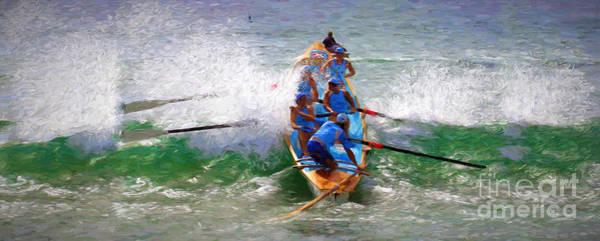 Wall Art - Photograph - Surfing Lifesaving Boat by Sheila Smart Fine Art Photography