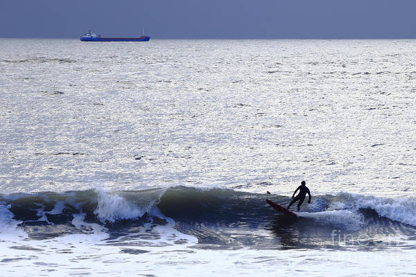Photograph - Surfing Uk by Paul Cowan