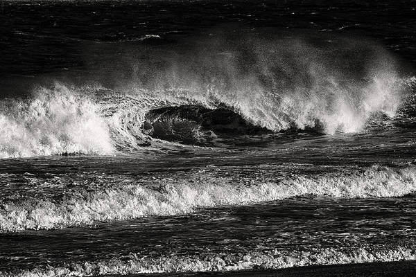 Photograph - Surf's Up In Ocean City In Black And White by Bill Swartwout Photography