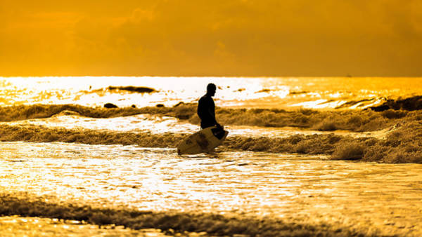 Photograph - Surfs Up by Keith Allen