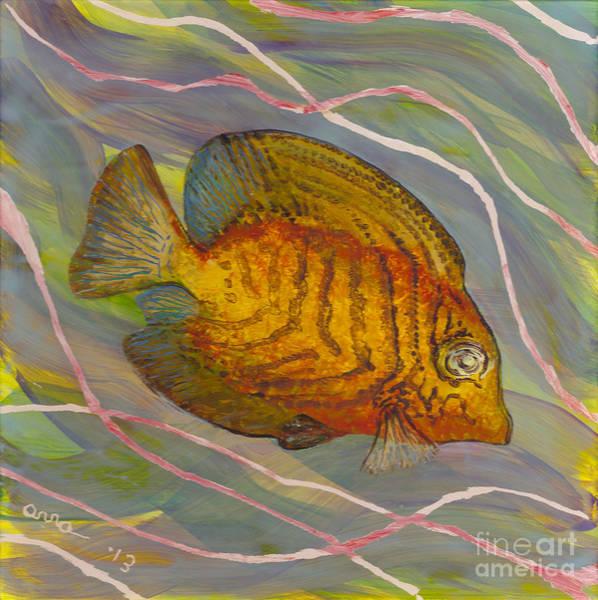 Painting - Surgeonfish by Anna Skaradzinska