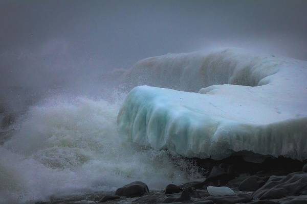 Superior Photograph - Surging Sea by Mary Amerman