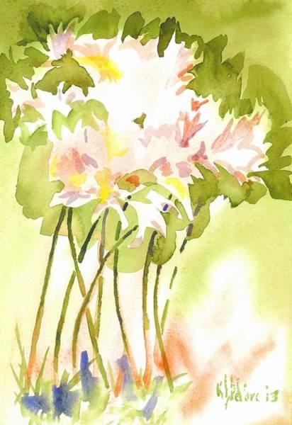 Painting - Surprise Lilies IIi A Portrait by Kip DeVore