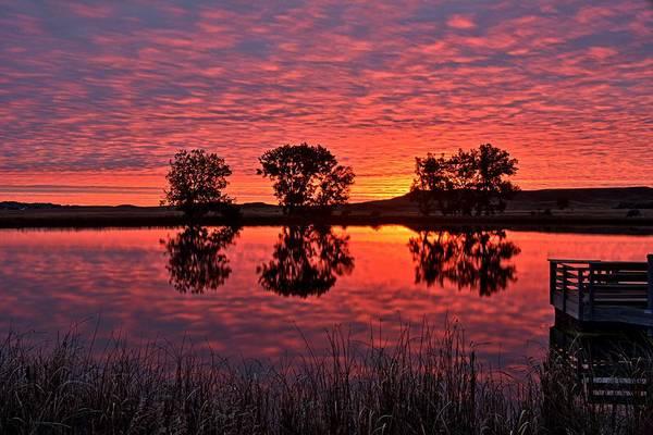 Photograph - Surprise Sunrise by Fiskr Larsen