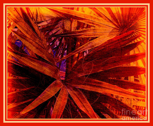 Photograph - Surreal Dreams In Red by Susanne Van Hulst