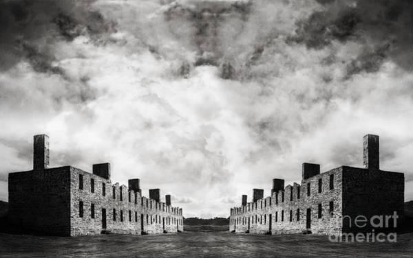 Wall Art - Photograph - Surreal Landscape Crown Point by Edward Fielding