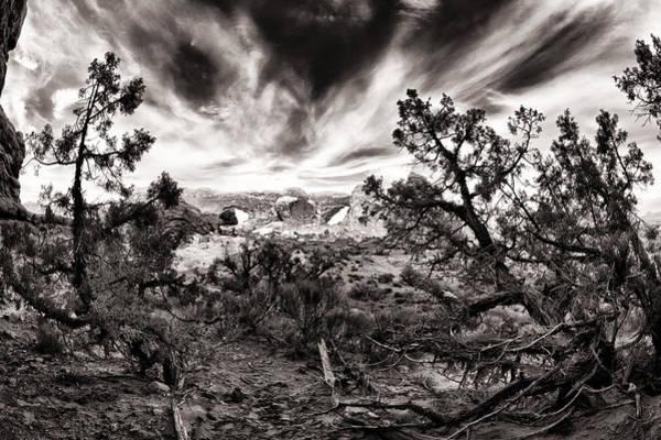 Wall Art - Photograph - Surreal Skyline Arch by Juan Carlos Diaz Parra