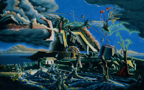 Painting - Surrealism In The Atomic Age by Dave Martsolf