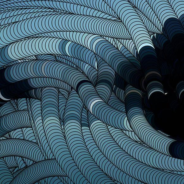 Digital Art - Surrealistic Background by Calvindexter