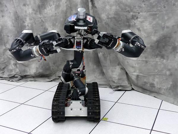 Jet Propulsion Laboratory Photograph - Surrogate Robot by Jpl-caltech