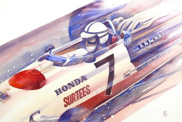 Wall Art - Painting - Surtees by Robert Hooper