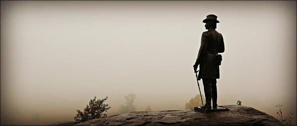 Gettysburg Battlefield Photograph - Surveying The Battlefield by Stephen Stookey