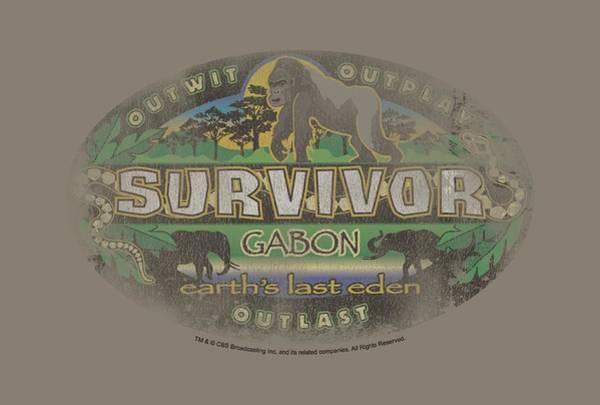 Reality Digital Art - Survivor - Gabon Distressed by Brand A