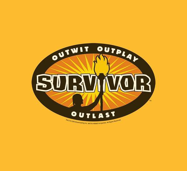 Reality Digital Art - Survivor - Gold Burst by Brand A