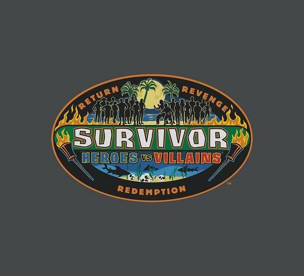 Reality Digital Art - Survivor - Heroes Vs Villains by Brand A