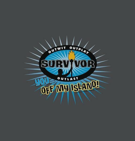 Reality Digital Art - Survivor - Off My Island by Brand A